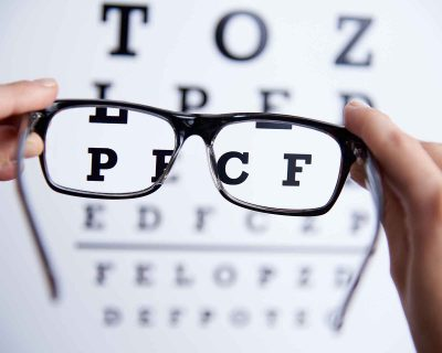 What unhealthy habits may cause vision problems?